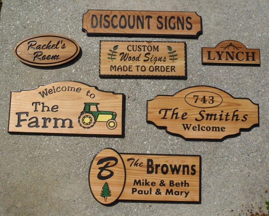 Discount Wood Signs